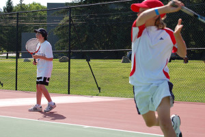 Tennis Camps - Tennis Match Play