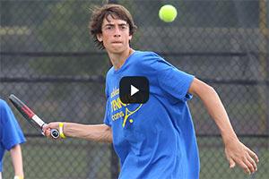 Tennis Camps - Boys Return Shot