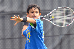 Tennis Camps - Boy Tennis Player Windup