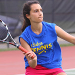Girls Tennis Player Ready for Shot - Christian Brothers College