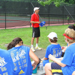 Tennis Camp - Tennis Camper Coaches Ira Miller