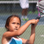 Tennis Training - Tennis Camp Backhand Training
