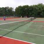 Tennis Camp - Match Shot Drake University