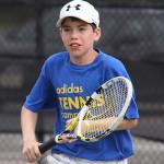 Tennis Match - Running to Net