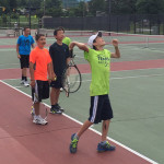 Tennis Camp - Serve Windup