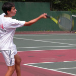 Tennis Forehand Training