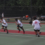 Tennis Camps - Warming Up