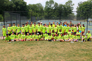 Tennis Camps - Tennis Camper - Group Shot