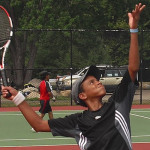 Tennis Camps - Boy Tennis Players in Action