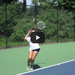 Tennis Camps - Girl Tennis Players in Action