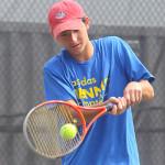 Tennis Camps - Boy Tennis Player Forehand Return