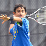 Tennis Camps - Boy Tennis Player Windup