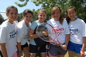 Tennis Camp - Tennis Campers Camaraderie