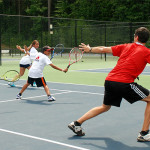 Tennis Camps - Tennis Camper Coaches Michael Filipek Tennis Academy