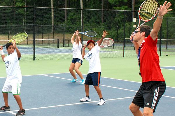 Tennis Camps - Coaching Tennis Serves
