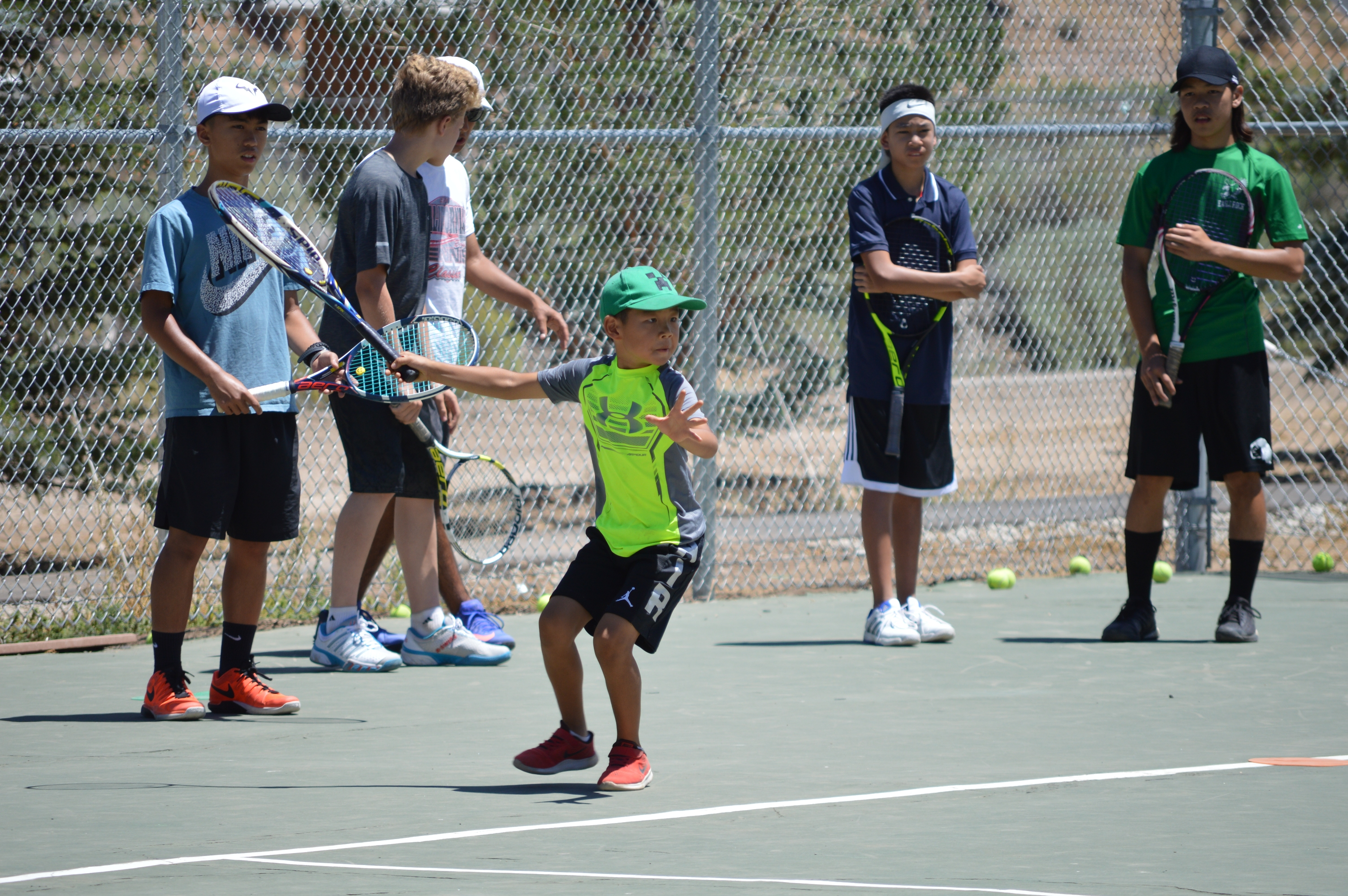 Day vs. Extended Day Tennis Camp: What's the Difference?