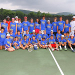 Tennis Camper - Group Photo
