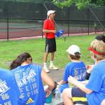 Tennis Camp - Tennis Camper Coaches Ira Miller