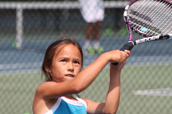 Tennis Training - Tennis Camp Backhand Training