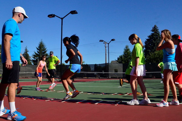 Tennis Training - Tennis Camps - Footwork Pacific University
