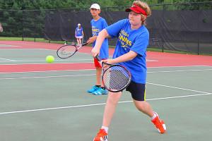 Tennis Camps - Return Shot Match Play