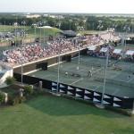 Tennis Camps - Texas A&M Tennis Courts Aerial